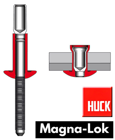 Spotlight: The Huck Magna-Lok Structural Fastener
